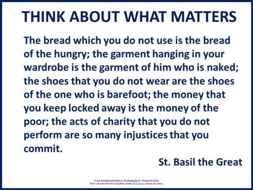 St Basil quote