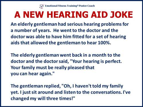 Hearing aide joke
